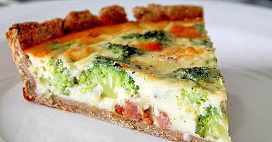 Brokolių ir šoninės apkepas