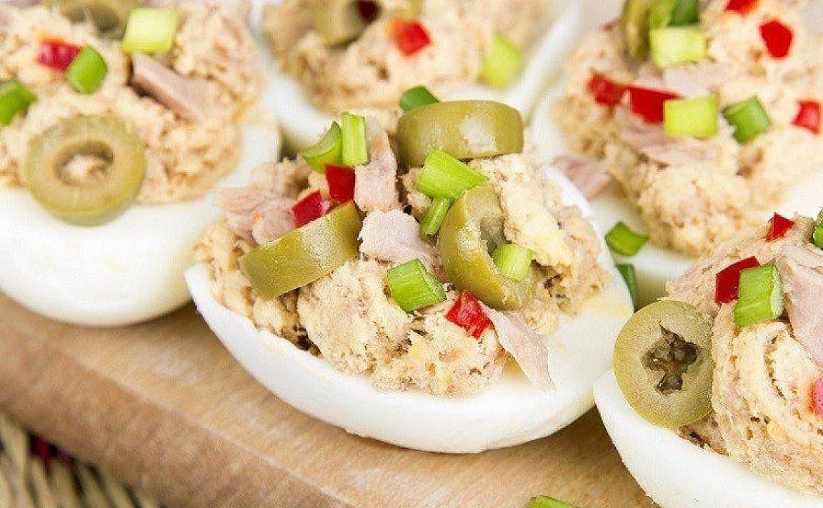Thunfisch Salat Ei