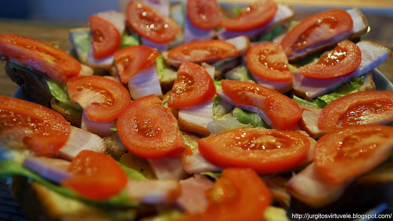 Vasariški sumuštiniai rudeniškai dienai su rūkyta mėsa