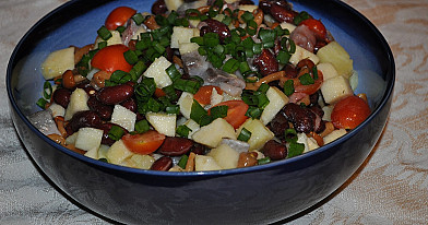 Салат из сельди и картофеля на любой случай