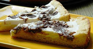 Pyragas su citrinine rikota ir šokoladu