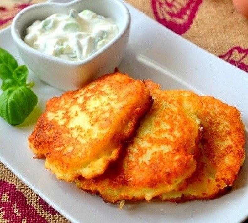 Knusprige deutsche Kartoffelpuffer