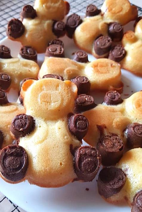 Sausainiai - Keksiukai meškučiai barniai