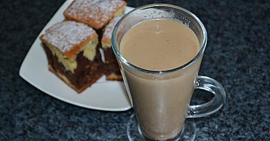 Kava su klevų sirupu ir pienu