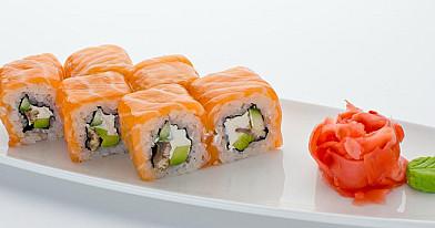 Philadelphia sushi - suši su lašiša | Receptas
