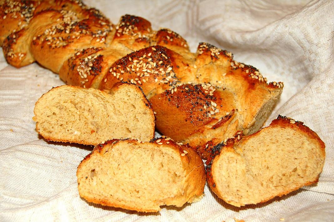 Chala - tradicinė žydų duona   Receptas