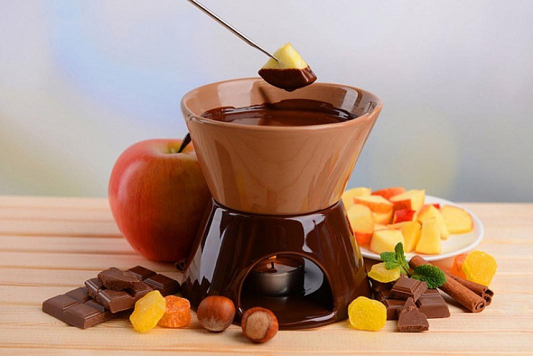 Šokolado fondiu   Receptas