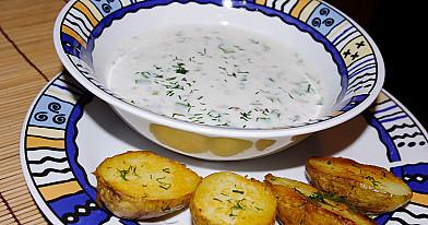 Žemaitiškas šmakalas (šalta sriuba) su silke