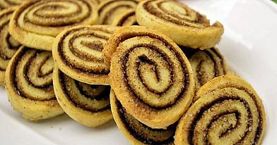 Cinamono sausainiai su cukrumi
