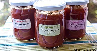 Pomidorų padažas su slyvomis   Receptas