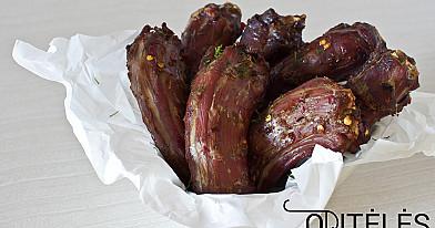 Острые утиные шейки, запеченные в духовке