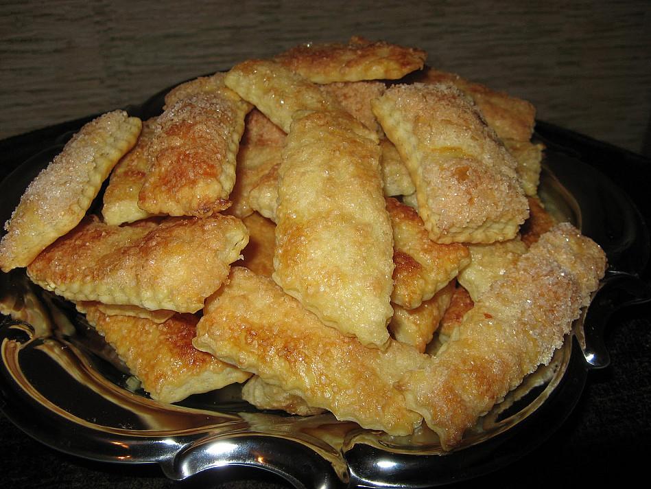 Песочное печенье с сахаром