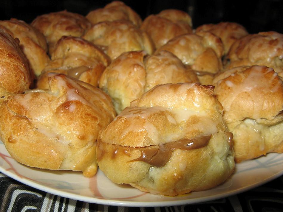 Пирожные на пару с легким и нежирным кофейным кремом