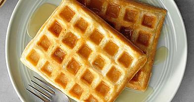 Palangos vaflių receptas arba minkšti skanūs vafliai su sviestu