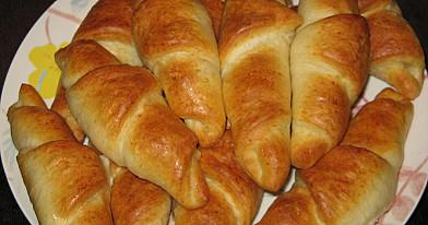 Prancūziški kepti rageliai su sūriu ir kumpiu