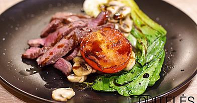 Jautienos steikas su daržovėmis