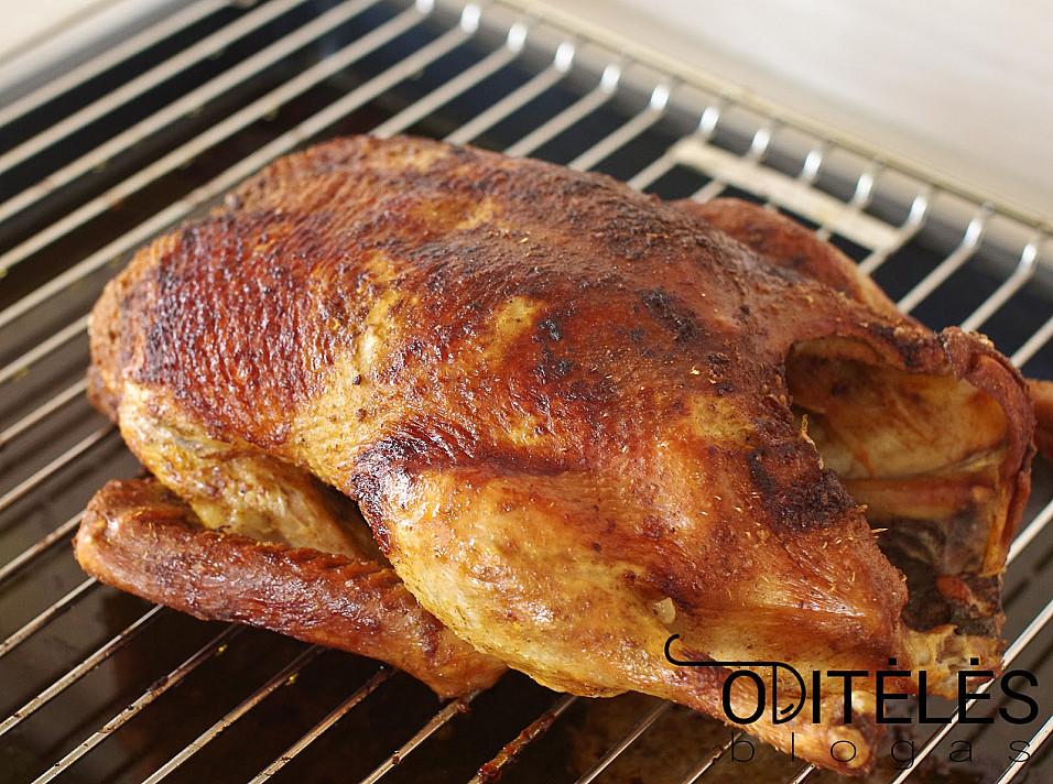 Утка (или курица), запеченная в духовке