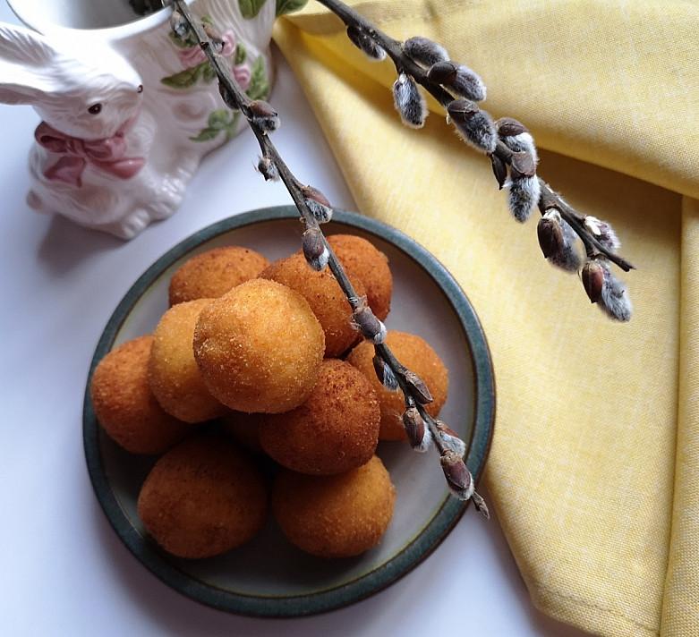 Bulvių kroketai su sūriu pagal Beatą