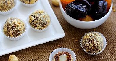 Džiovintų vaisių saldainiai