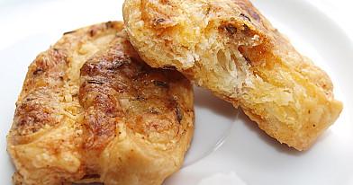 Sūrūs užkandžiai - sausainiai su sūriu ir kmynais prie alaus pagal Beatą