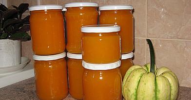 Moliūgienė - moliūgų uogienė / džemas su citrina ir apelsinais žiemai