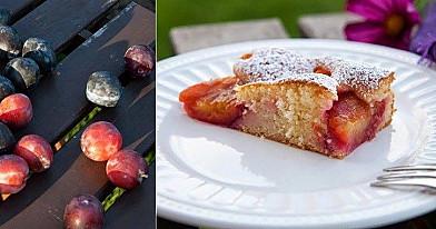 Pyragas su slyvomis ir cinamonu