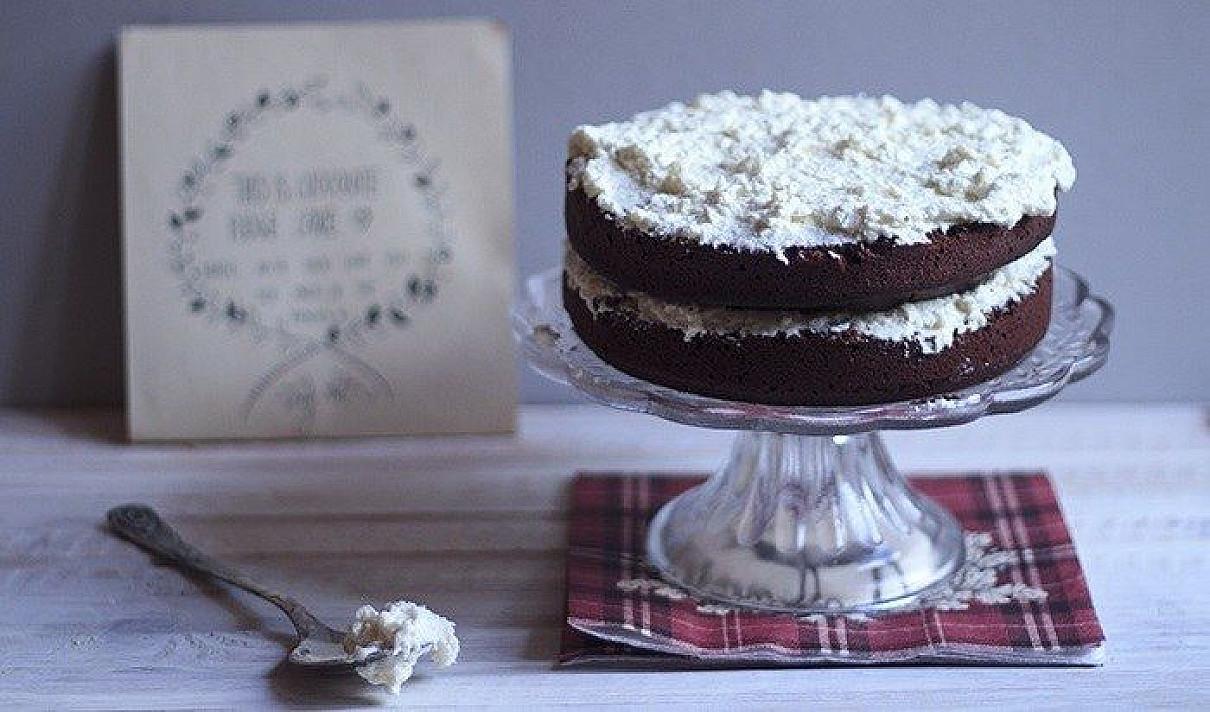 Kokosinis šokoladinis pyragas
