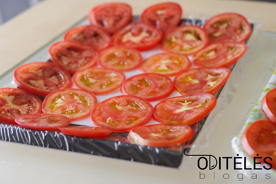 Griežinėliais užšaldyti pomidorai (atsargos žiemai)
