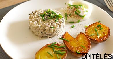 Вкусная маринованная рубленая сельдь, приготовленная по-разному