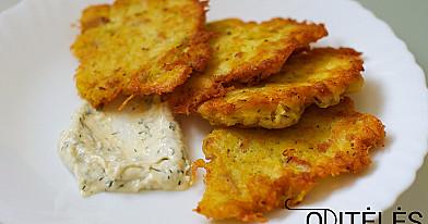 Традиционные и вкусные картофельные оладьи с мясом - драники