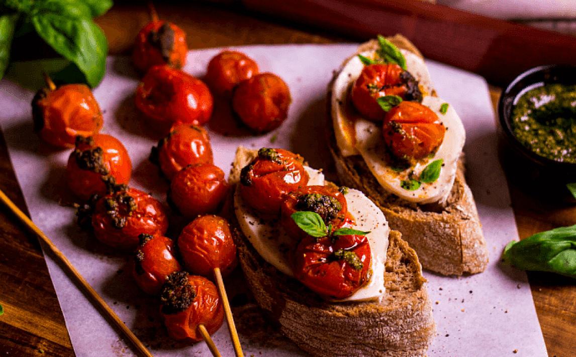 Itališki sumuštiniai su mocarela