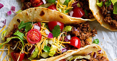 Тако с мясом - традиционный мексиканский рецепт