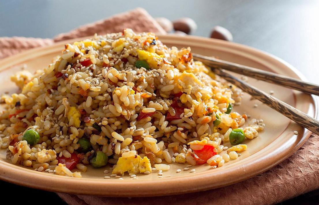 Rudieji ryžiai - nauda ir košės virimas su daržovėmis