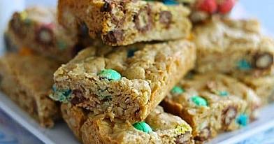 Avižiniai M&M's pyragėliai (sausainiai)
