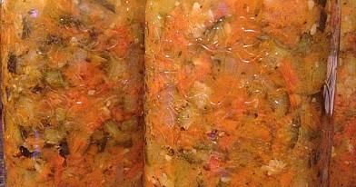 Cukinijų ir morkų mišrainė | Receptas